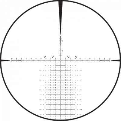 CCH reticle