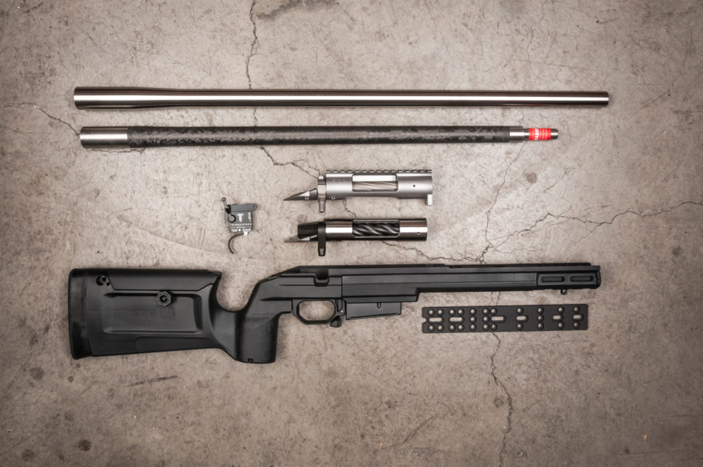 Rifle component options