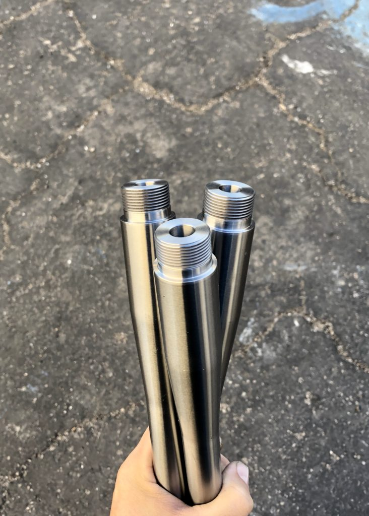Terminus Zeus/Curtis Custom Vector pre-fit Bartlein 5R barrels.